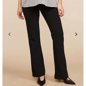 Secret Fit Belly Suiting Flare Maternity Pants